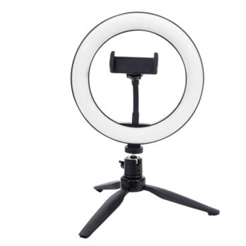 AC1 – Ring Light – 16Cm -Iluminador De Led C/ Suporte