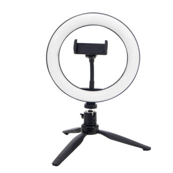 AC2 – Ring Light – 20Cm -Iluminador De Led Com Suporte